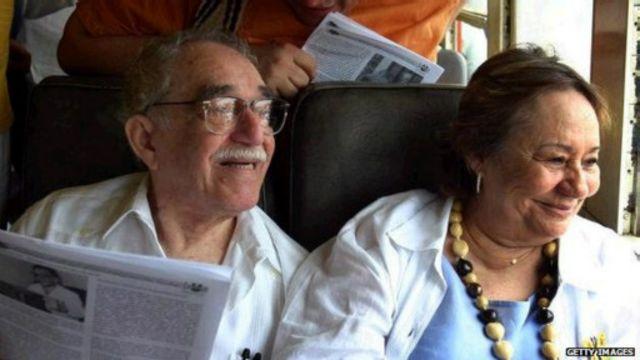 تزوج ماركيز من ميرسيدس  ليعيشا معا أكثر من 50 عاما.