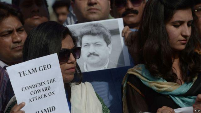 پاکستانی میڈیا پر حملوں میں گذشتہ کچھ عرصے میں اضافہ دیکھا گیا ہے