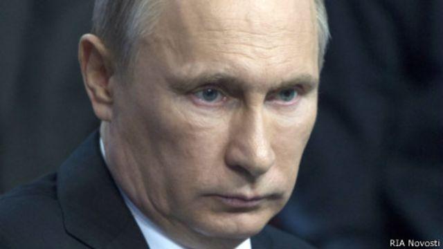 Владимир Путин на Медиафоруме в Санкт-Петербурге 24 апреля 2014 года