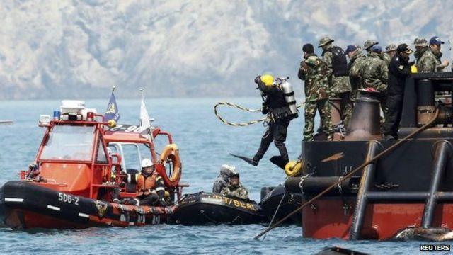Korsel: Tim penyelam temukan 48 mayat di satu ruangan ...