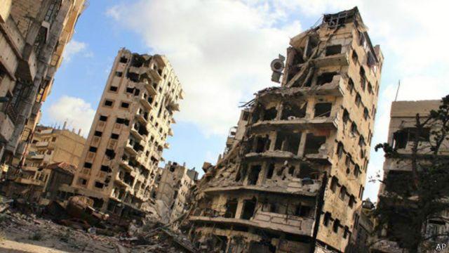 Руины Хомса