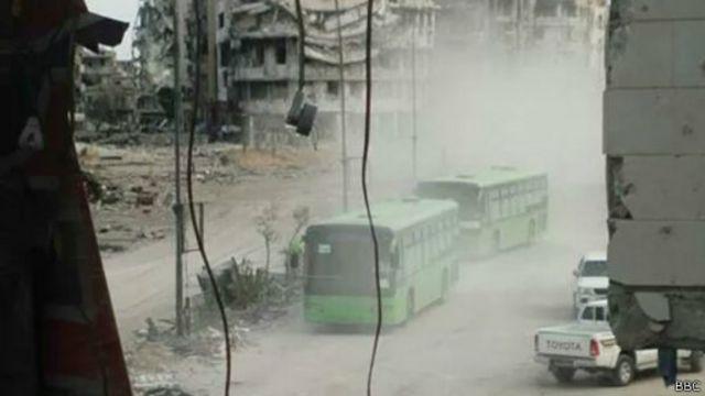 Автобусы в Хомсе