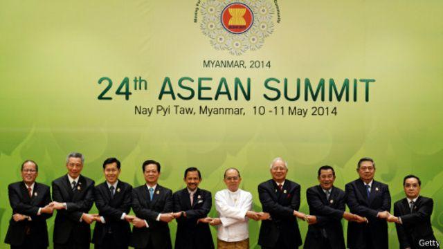 Các lãnh đạo Asean gặp nhau tại Myanmar