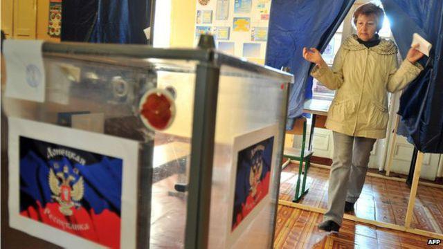 Votação na Ucrânia