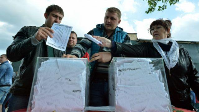 """По данным сепаратистов, явка на """"референдуме"""" составила не менее 70%"""
