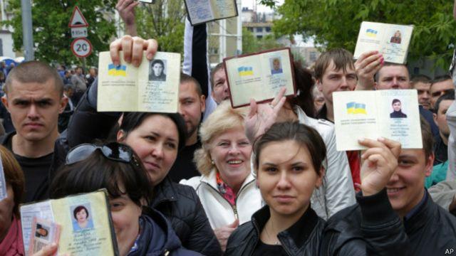 """В Москве также было организовано голосование на """"референдуме"""""""