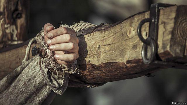 Рука распятого