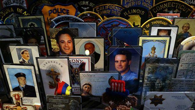 Recuerdos de las víctimas de los atentados