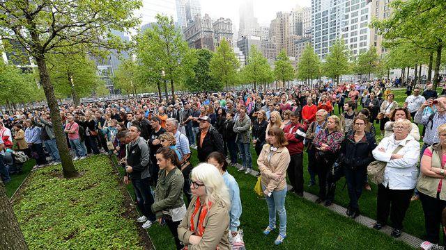 Público frente al museo