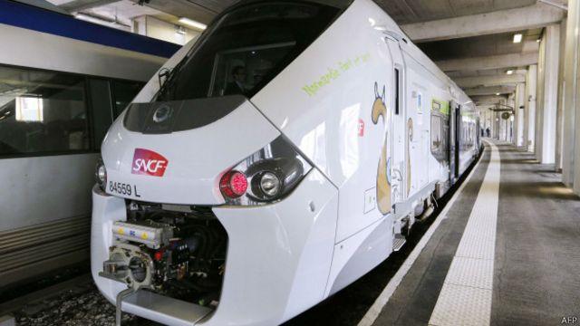 Французский поезд