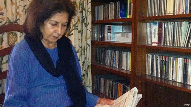 مصنفہ نین تارا سہگل بھارت کے پہلے وزیر اعظم جواہر لال نہرو کی بھانجی ہیں