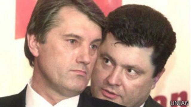 Порошенко, Ющенко