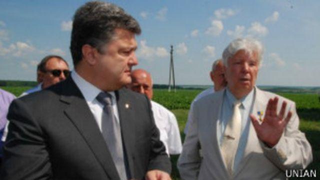 Петр и Алексей Порошенко