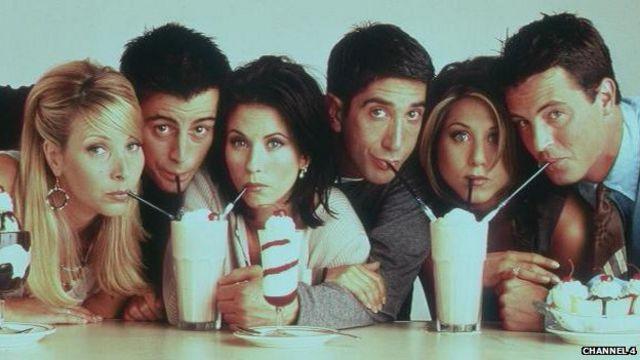 دوستان برای یک دهه از موفقترین برنامههای تلویزیون بود