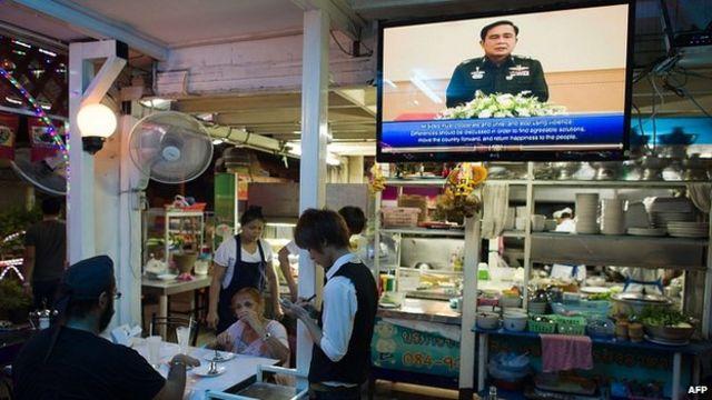 В Бангкоке пока спокойно