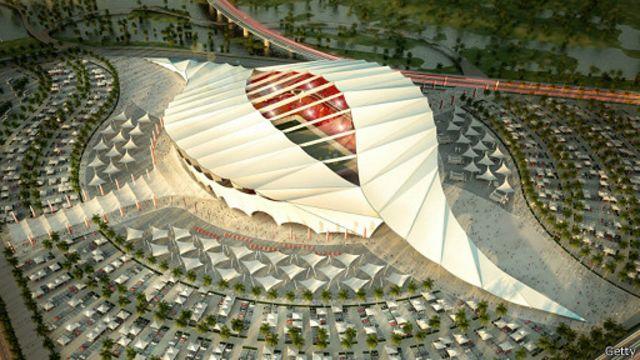 Proyecto de uno de los estadios