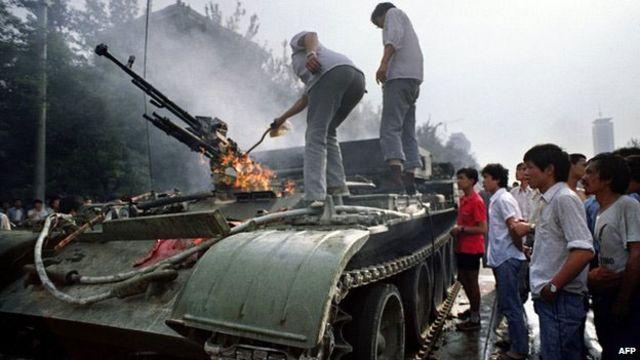 Тянбьаньмэнь, 1989 год