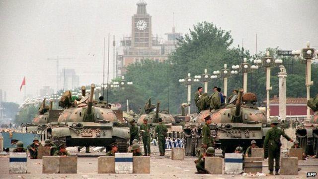 Тяньаньмэнь, 1989 год