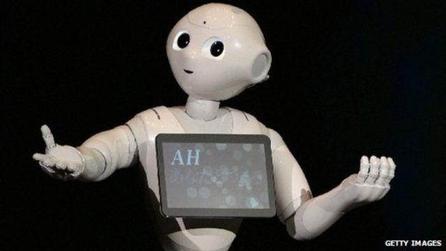 قرار است یک نمونه از این روباتها در فروشگاههای تلفن موبایل شرکت سافتبنک به مشتریان سرویس بدهد