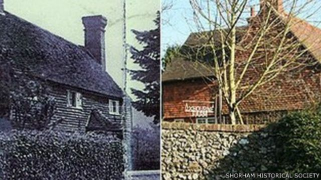 حينما شيد النصب التذكاري لقرية شورهام في العشرينيات، لم تطلب العائلة إدراج اسم ابنها هايغيت