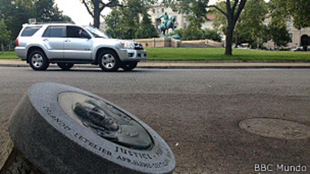 Monumento a Letelier en Washington