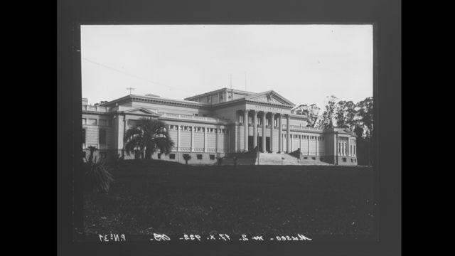 Museo de La Plata en 1887