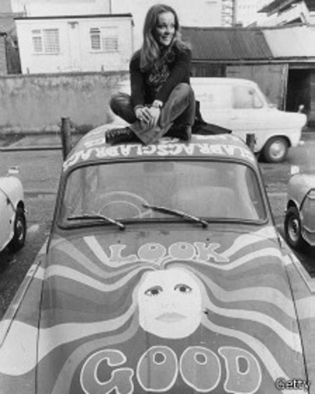 Un automóvil Skoda en 1971