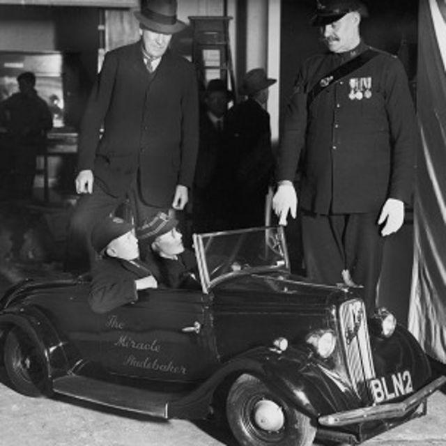"""Un """"mini"""" Studebaker, creado para una exhibición de 1935"""