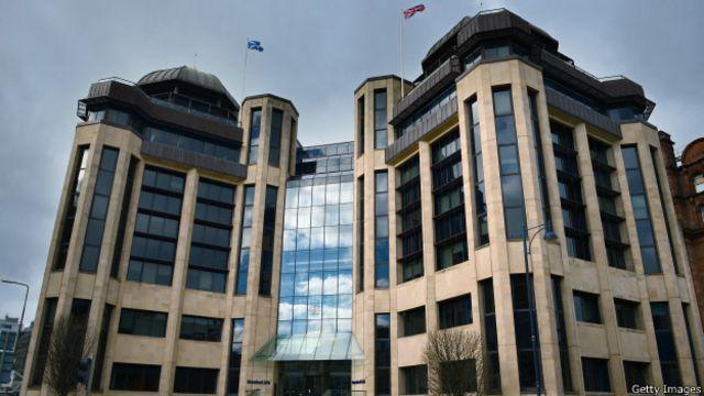 Штаб-квартира пенсионного фонда Standard Life в Эдинбурге