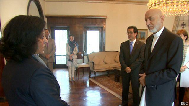 کرزی: متاسفانه نه طالبان اختیاردار آوردن صلح هستند، متاسفانه، و نه دولت افغانستان به تنهایی خود