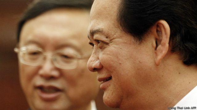 Ông Nguyễn Tấn Dũng gặp gỡ ông Dương Khiết Trì