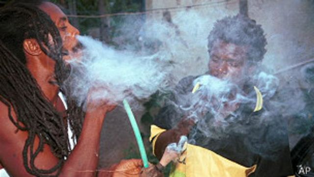 Fumadores de marihuana