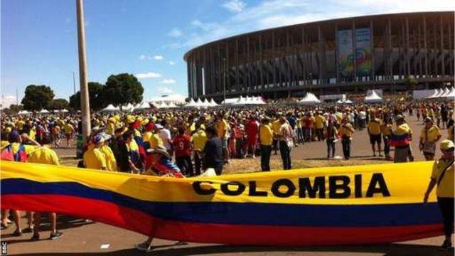 Magoya bayan Colombia a Brazil