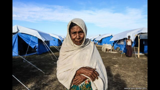 Расул, беженка из Бирмы