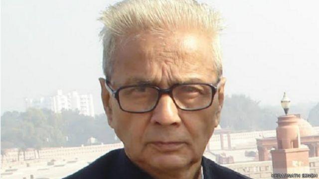 हिंदी के वरिष्ठ कवि केदारनाथ सिंह