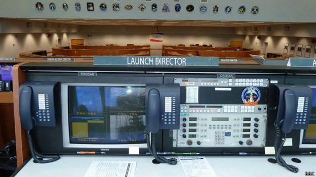 НАСА: центр управления полетами шаттлов