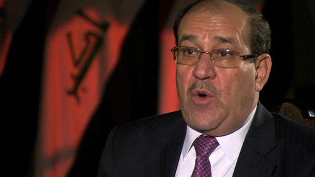 Primeiro ministro do Iraque, Nouri Maliki (BBC)