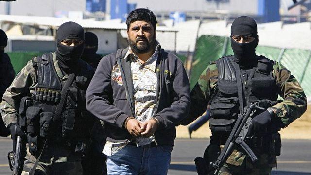 Alfredo Beltrán Leyva al momento de ser capturado. Foto Getty Images.