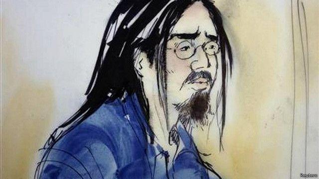 Hình họa sĩ vẽ Ngô Nguyễn Sinh Vinh tại tòa