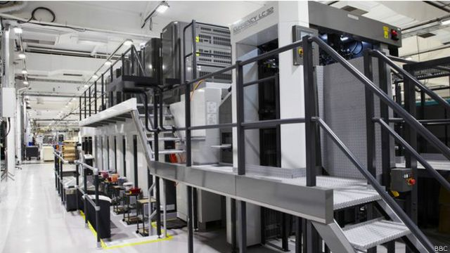 Máquinas de imprimir