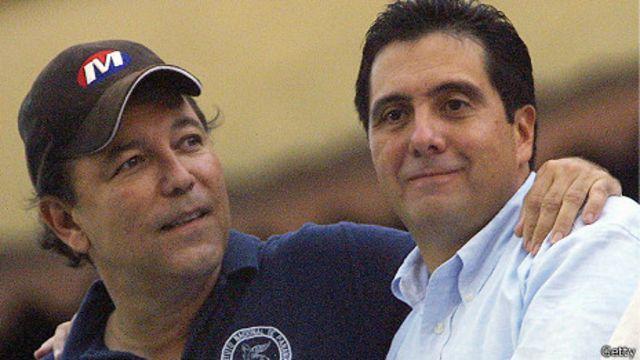 Rubén Blades y Martín Torrijos