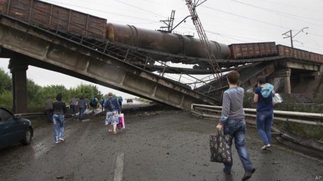 Дорога на Донецк