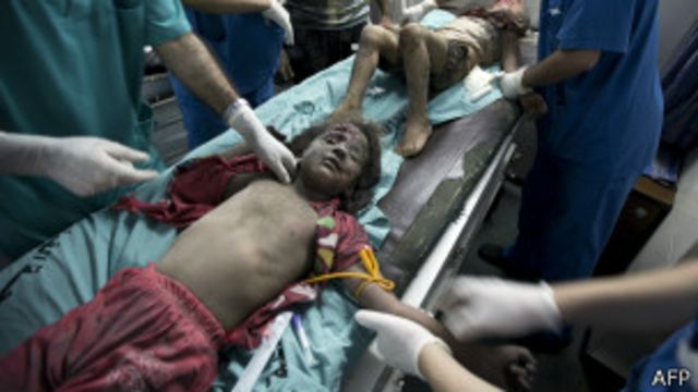 سازمان ملل می گوید اکثر کشته های فلسطینیان غیرنظامی هستند