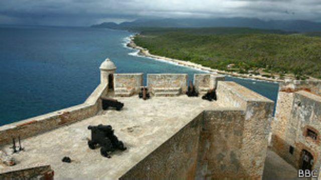 Castillo del Morro en la Bahía de la Habana