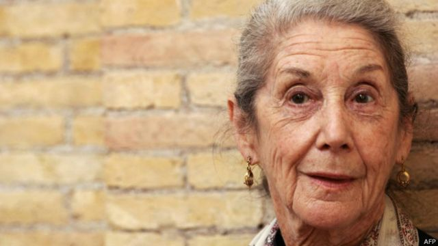 नोबेल पुरस्कार विजेता नडीन गोर्डिमर