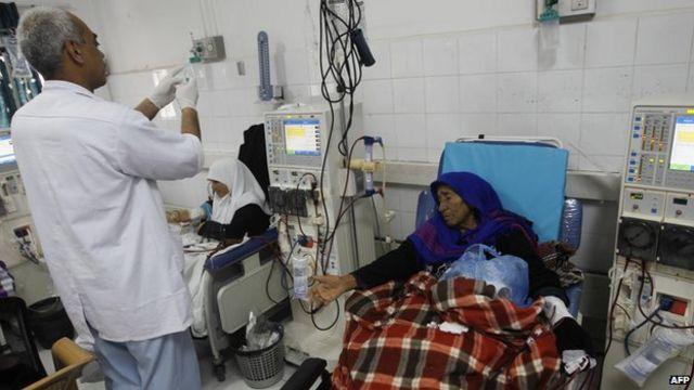 Saúde em Gaza (AFP)
