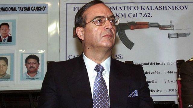 Exespía jefe de Perú, Vladimiro Montesinos.