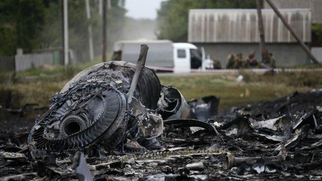 လေယာဉ်ဟာ ပေ ၃၃၀၀၀ အမြင့်မှာ ဒုံးကျည်နဲ့ ပစ်ချခံခဲ့ရတယ်လို့ ယူဆရ။