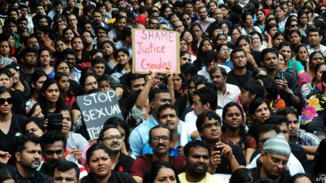 Unjuk rasa di Bangalore