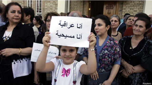 """تتعرض الاقليات من مسيحيين وغيرهم للاضطهاد على ايدي """"الدولة الاسلامية"""""""